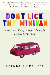 Dont Lick the Minivan 9781620875261